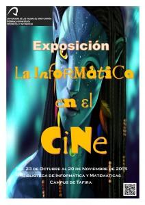 Cartel exposición La informática en el cine